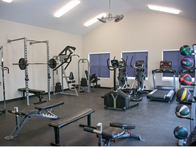 Image of Fitness Center with Free Weights & Cardio Room for Sandalwood Apartments