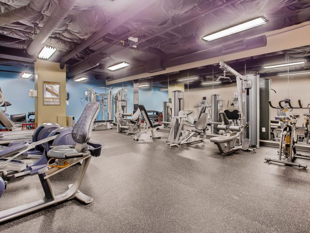 Image of Fitness     Center for VUE25 Apartments