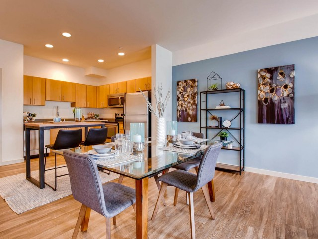 Image of Hardwood Flooring for VUE25 Apartments