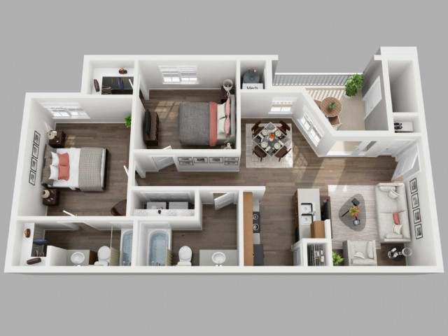 Floor Plan 2 | Copperwood