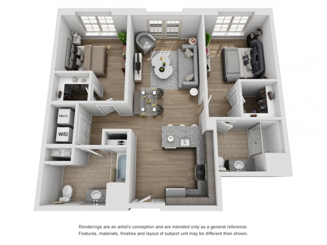 Lovely The Harper at Harmon Meadow Ideas - Fresh two bedroom apartment for rent Style