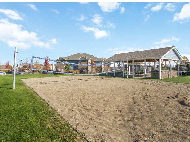 Image of Sand Volleyball  Court for Autumn Breeze