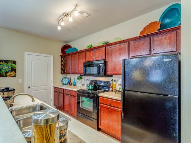 Image of Fully Appointed Kitchens for Autumn Breeze Apartments