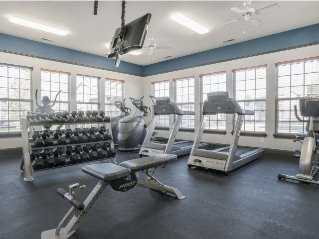 Image of 24 Hr Fitness Center for Autumn Breeze Apartments