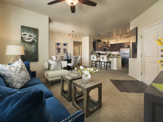 Image of Stylishly designed urban interiors for Almeria at Ocotillo Apartments