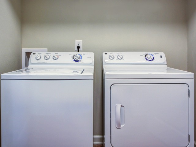 Image of Washer & Dryer Included for 1000 West Apartments