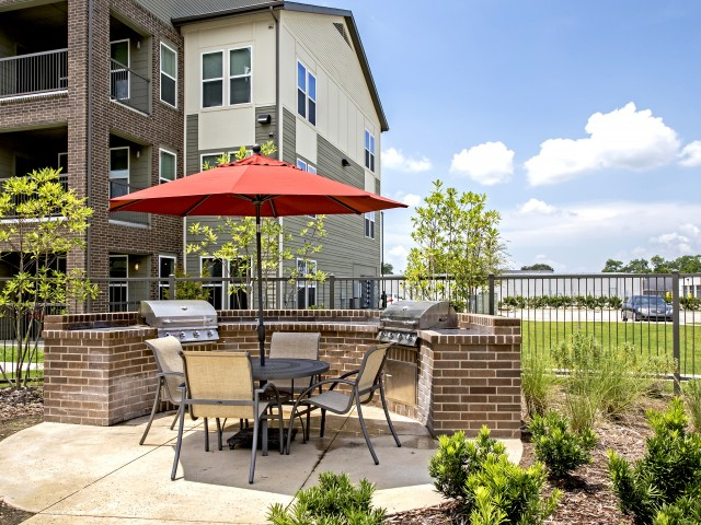 Image of Outdoor grilling and entertainment areas for Watervue
