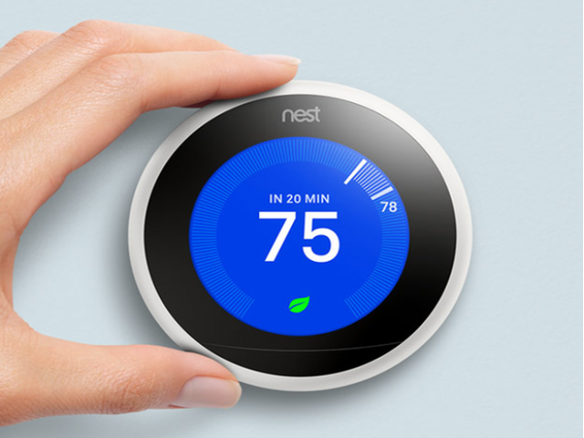 Image of Nest Thermostats for Copperwood Apartments
