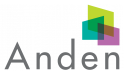 Anden Logo | 2 and 3 Bedroom Apartments in San Marcos | Anden