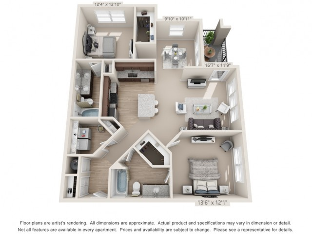 Floor Plan 4 | Atlantic at Parkridge