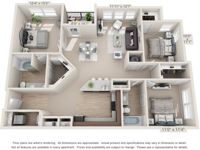 Floor Plan 5 | Atlantic at Parkridge