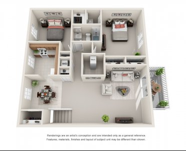 The Grant - 2 bedroom apartment
