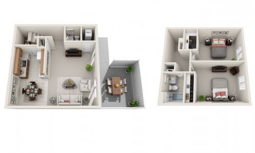 The Bethany - 2 bedroom townhome for rent