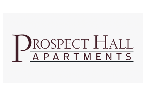 Text-Based Logo for Prospect Hall Luxury Apartments