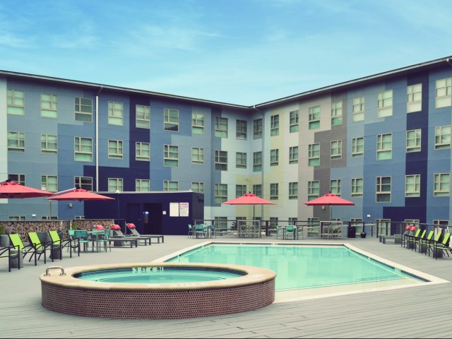 Image of Boutique Style Pool & Hot Tub for The Stack at Legacy Point
