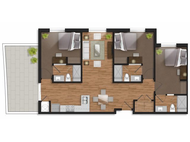4 bedroom design apartments for rent in college station the stack at legacy point