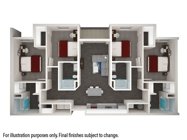 Apartment Room Plan student apartments in college station