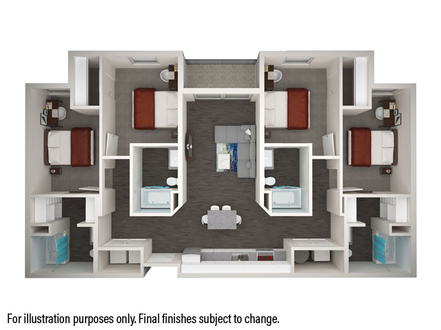 4x4 Alt Floorplan