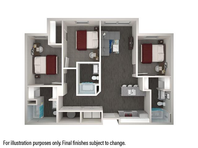 3x3 Floorplan