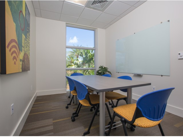 Study Lounge at Bayview FIU Student apartments