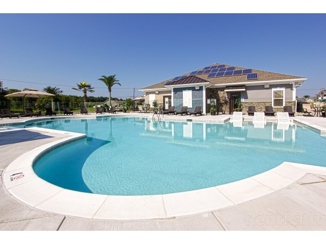 Image of Resort Style Salt Water Outdoor Pool for SummerBridge at RockLedge