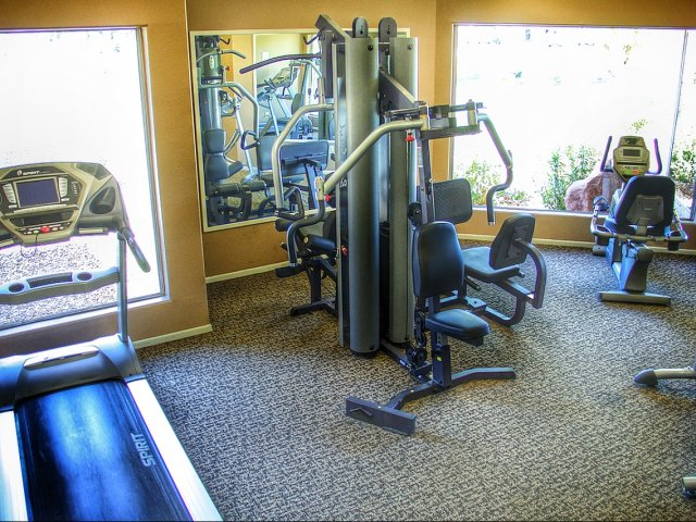 Image of Fitness Center for Eagle Crest Apartments