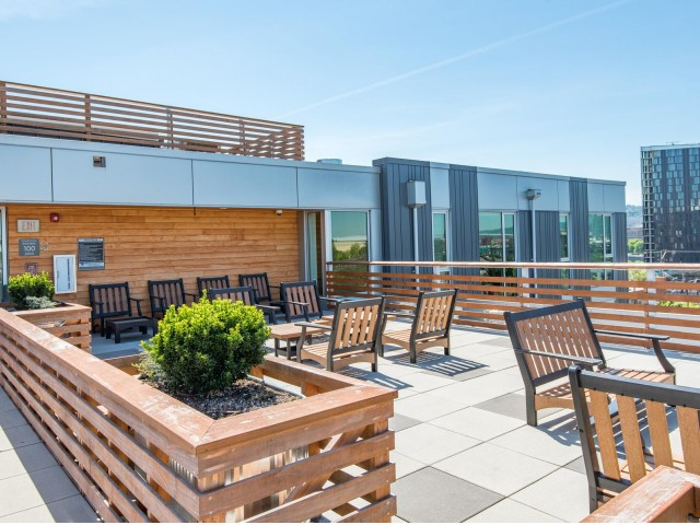 Image of Rooftop Patio for Central Eastside Lofts