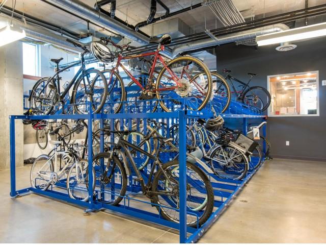 Image of Secure bike storage for Central Eastside Lofts
