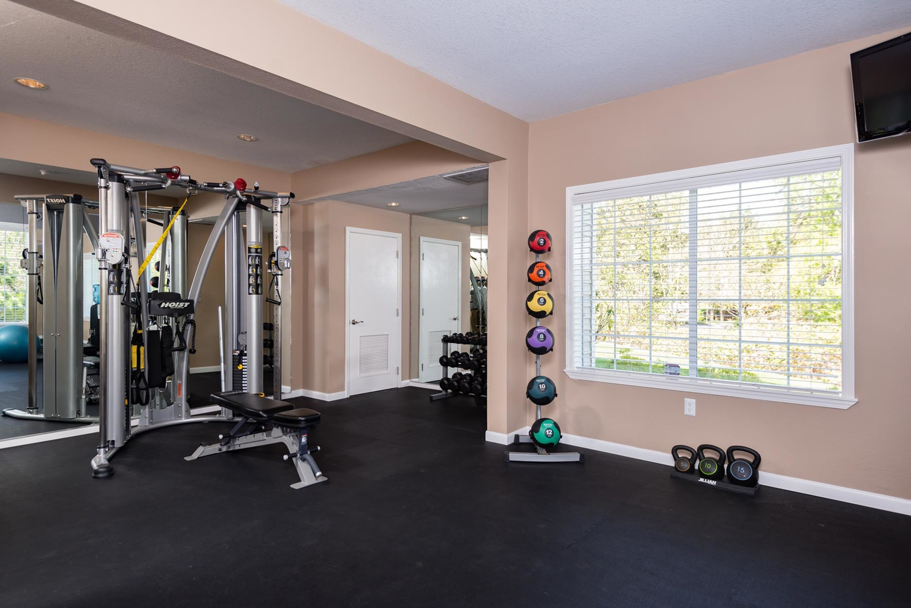 Image of Fitness Center for Murrayhill Park Apartments