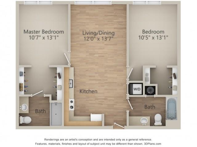 2 Bedroom S