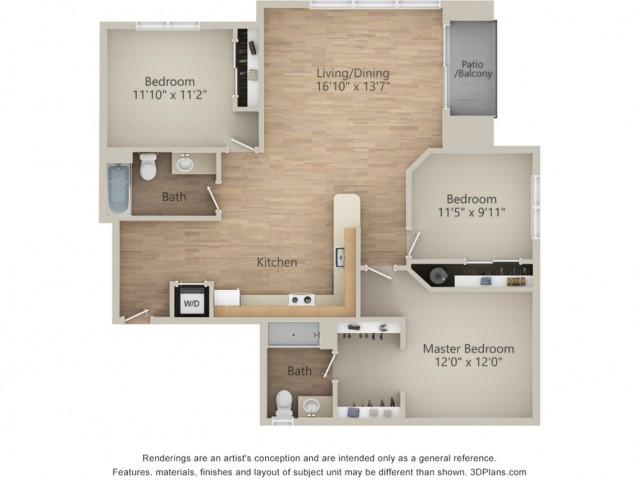 3 Bedroom S