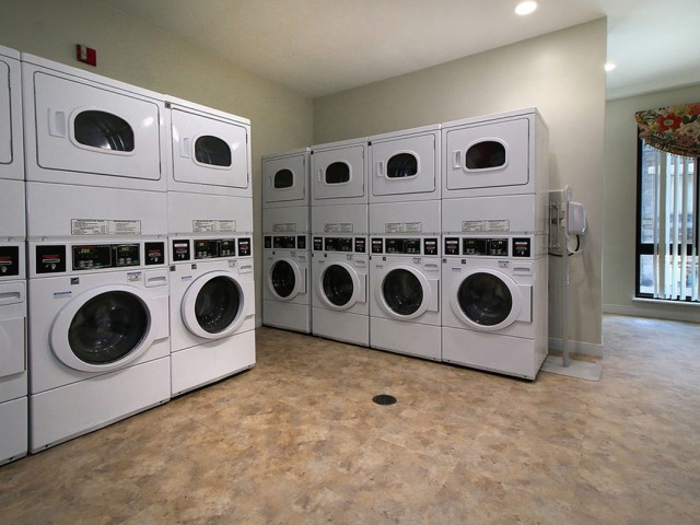 Image of Laundry care suite for Christopher Columbus Plaza