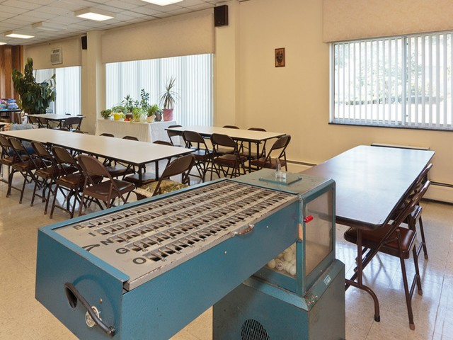 Image of Vibrant recreation room with billiards table for Congregational Retirement Homes l