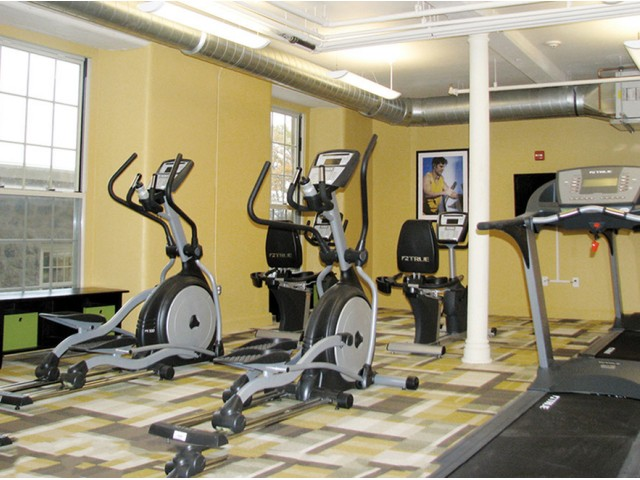 Image of High-impact Fitness Center for Bourne Mill Apartments