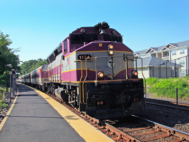 Image of Easy access to the Boston commuter rail for commutes or those weekend day trips to the City. Additionally during the summer months, the Capeflyer train makes getting to the Cape a breeze for Kensington Court