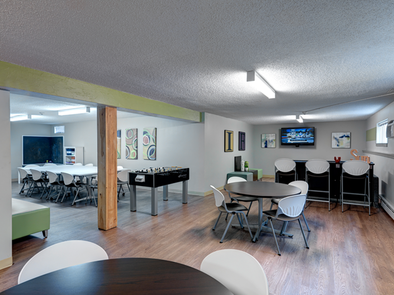 Image of Vibrant community gathering space with caterer's kitchen and Wi-Fi for Middlebury Arms