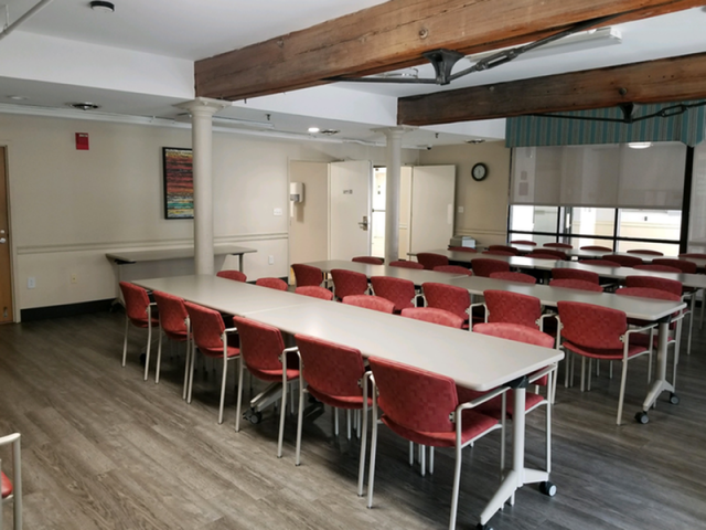 Image of Vibrant Community Gathering Space for Market Mill Apartments