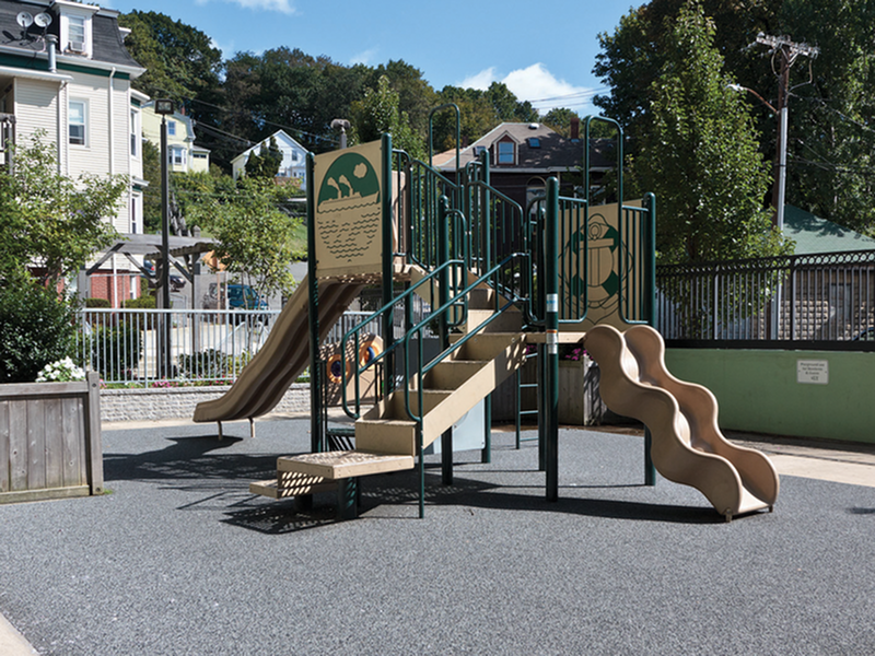 Image of Children's play area for Carter Heights