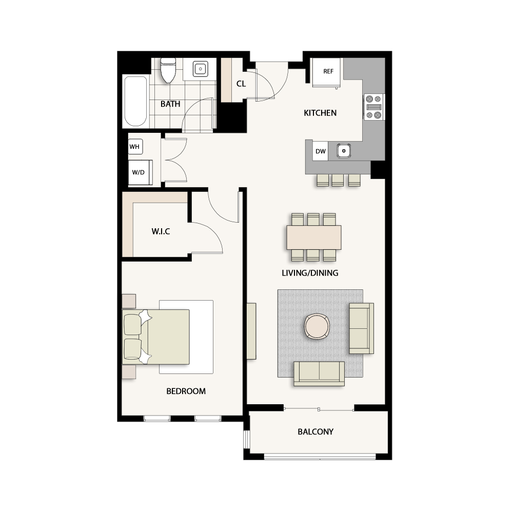 1 Bedroom Type 06