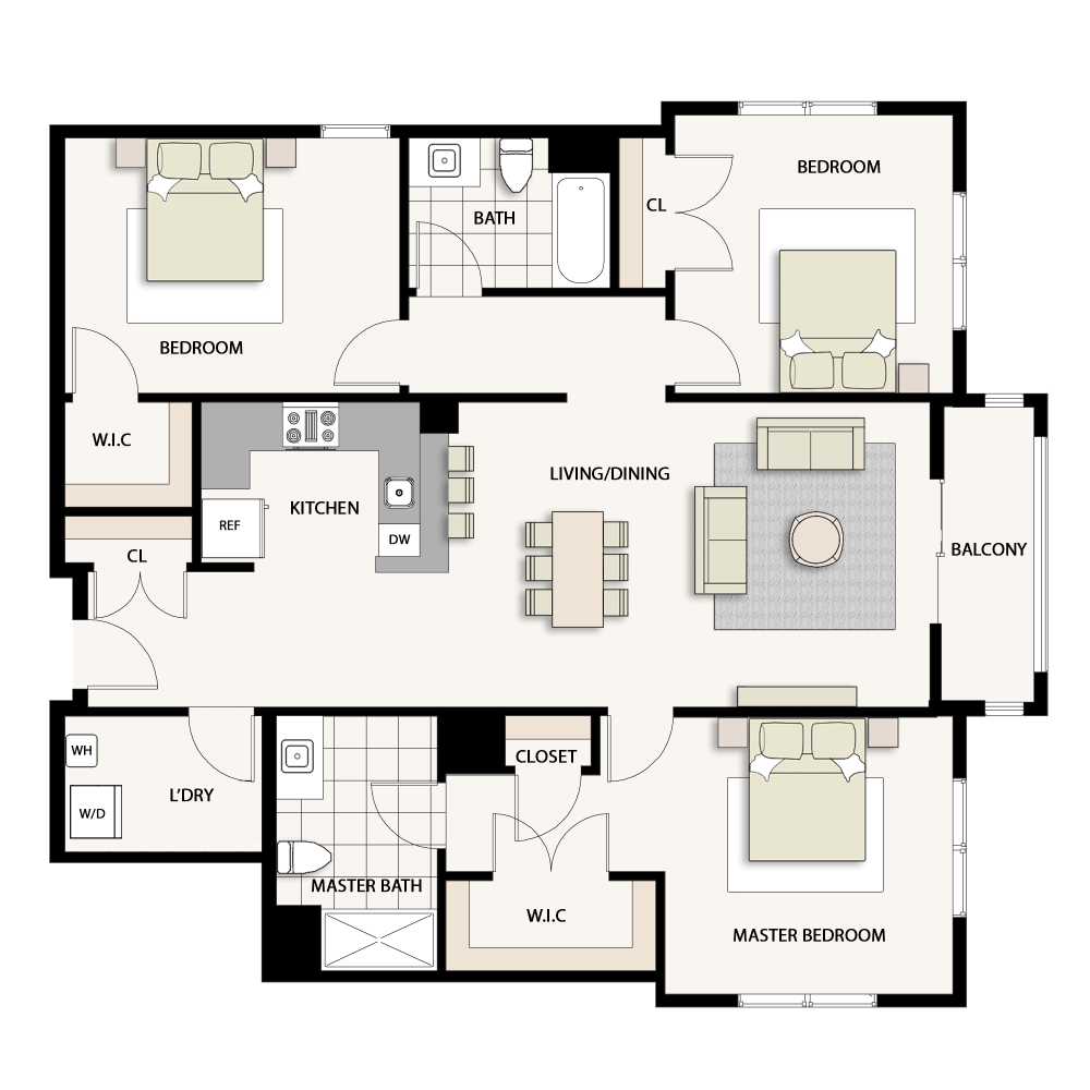3 Bedroom Type 15
