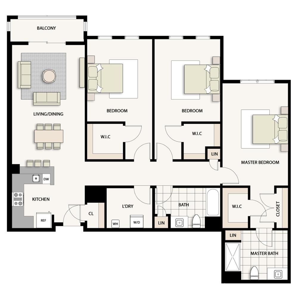 3 Bedroom Type 09