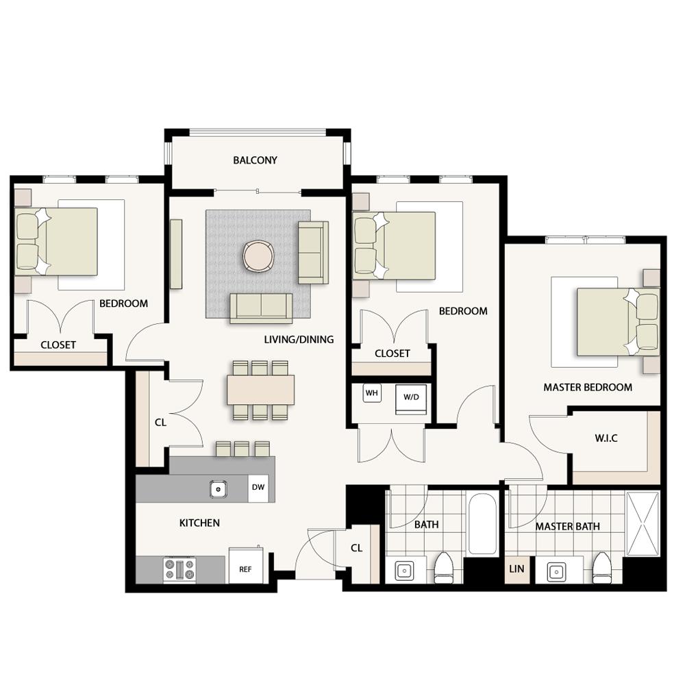 3 Bedroom Type 03