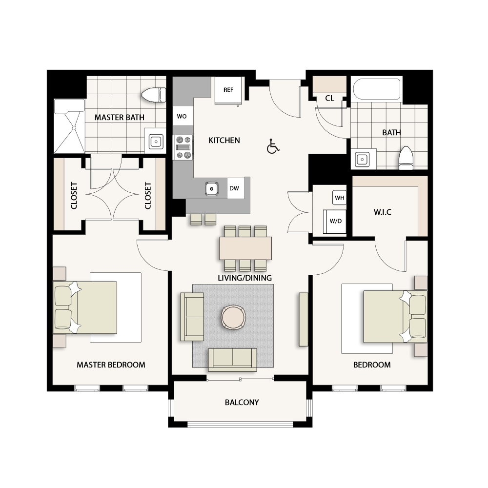 2 Bedroom Type 11