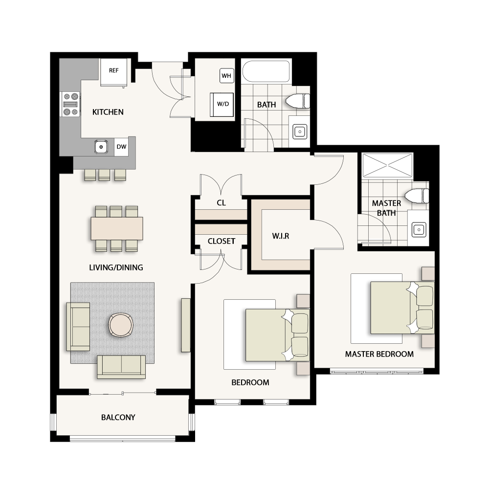 2 Bedroom Type 07