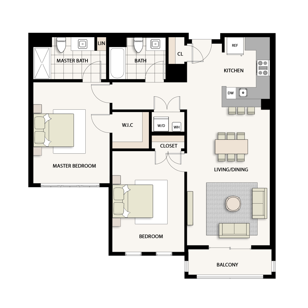 2 Bedroom Type 05