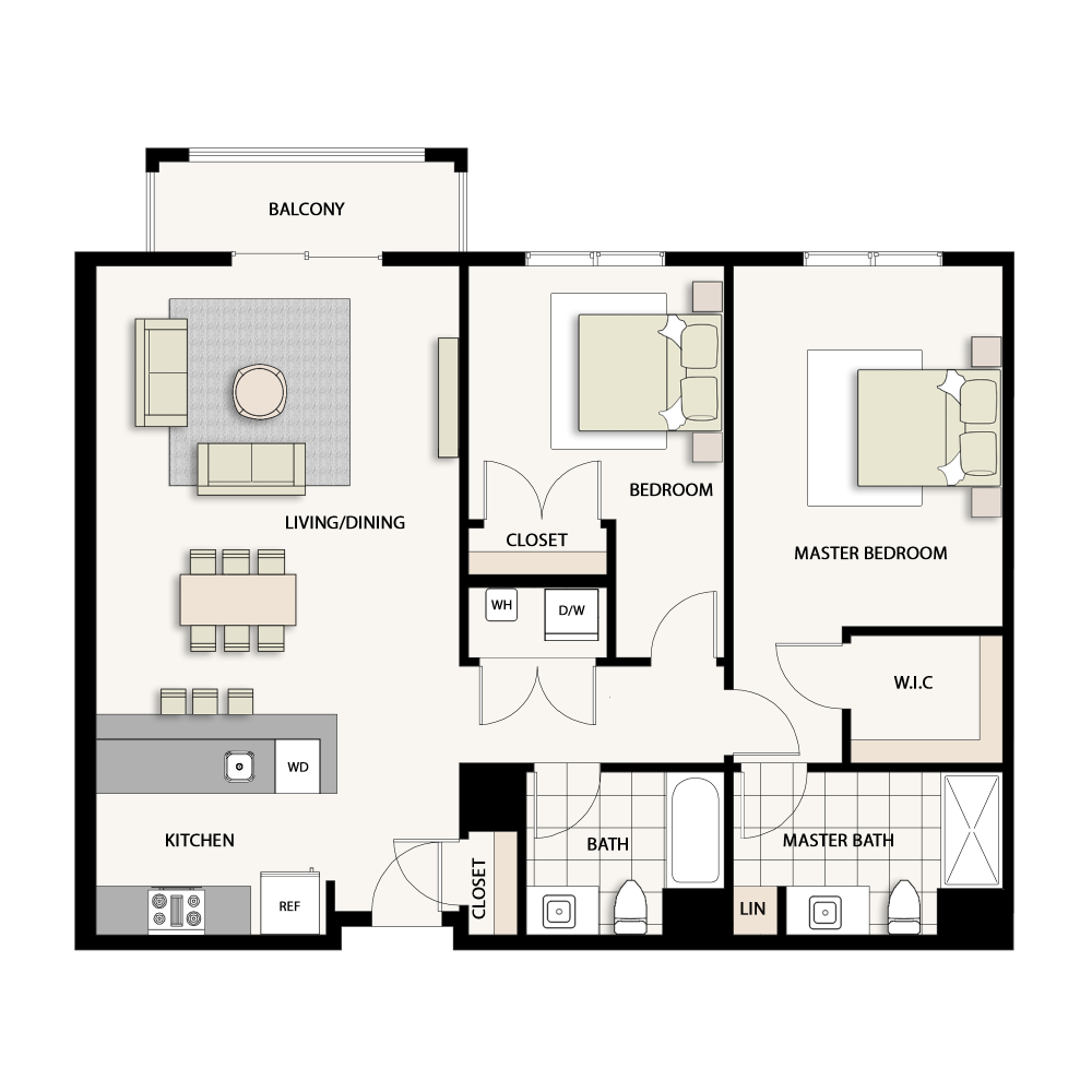 2 Bedroom Type 02