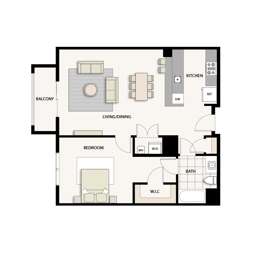 1 Bedroom Type 18
