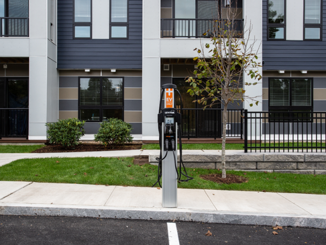 Image of Car Charging Stations for Oak Row Apartments