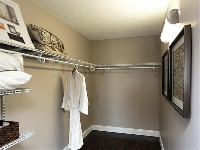 Image of Abundant closet space for Station 101