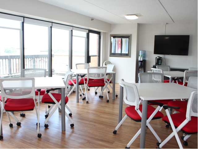 Image of Wi-Fi lounge for Station 101